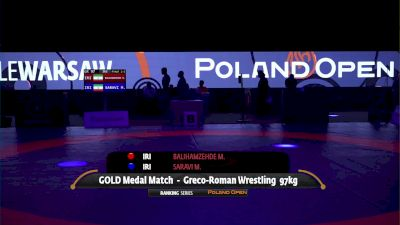97kg Gold - Mohammadhadi Saravi, IRI vs Mehdi Balihamzehde, IRI
