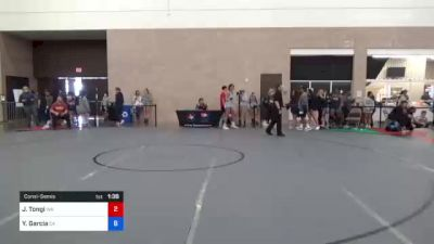 76 kg Consolation - Emily Cue, CO vs Dymond Guilford, CA