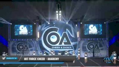 Hit Force Cheer - Anarchy [2021 L2 Junior - D2 - Medium Day 2] 2021 COA: Midwest National Championship