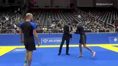 JOSH VINCENT PARKS vs MARK CHRISTOPHER HAMM 2021 World IBJJF Jiu-Jitsu No-Gi Championship