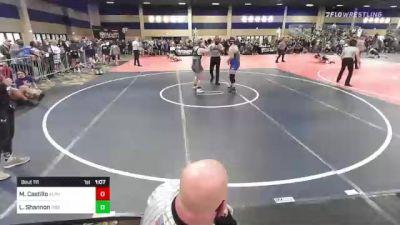 191 lbs Rr Rnd 1 - Maliya Castillo, Alpha Pack WC vs Lexi Shannon, Rise RTC
