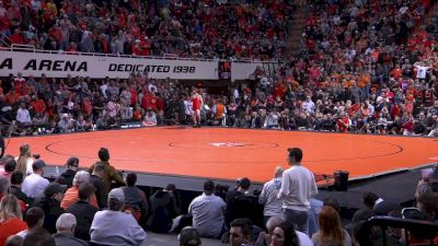 133 lbs A. Desanto, Iowa vs D. Fix, OK. State