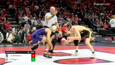 141 lbs Consolation - Alec McKenna, Northwestern vs Parker Filius, Purdue