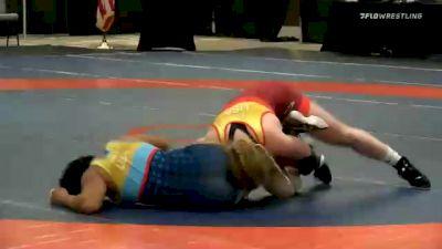 68 kg Final - Alexandria Glaude, Team Winchester vs Tamyra Mensah, Team Mensah Stock