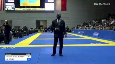 ROITER LIMA SILVA JUNIOR vs MARCELO COHEN 2021 World IBJJF Jiu-Jitsu No-Gi Championship