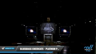 Bluegrass Cheercats - Platinum Prowlers [2021 L2 Youth - D2 - Small - A Day 2] 2021 The U.S. Finals: Louisville