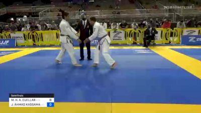 MO'OLELE H. A. CUELLAR vs JACOB AHMAD KASSAMA 2020 Pan Jiu-Jitsu IBJJF Championship