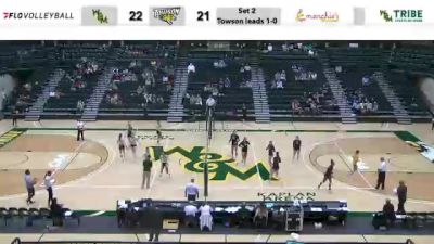 Replay: Towson vs William & Mary | Oct 22 @ 7 PM