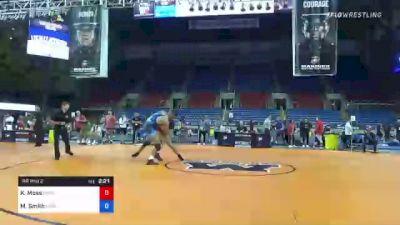 97 kg Rr Rnd 2 - Katrell Moss, Legends Of Gold vs Morgan Smith, Ohio Regional Training Center