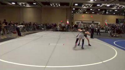82 lbs Round Of 16 - Caz Baca, Legacy WC vs Frank Soliz, Pride Wrestling