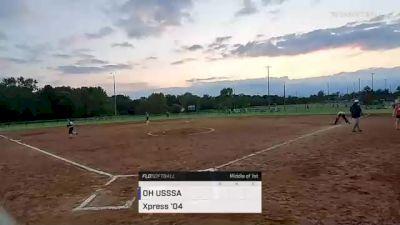 Xpress '04 vs. OH USSSA - 2021 Ohio Stingrays College Showcase