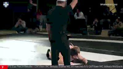 65 kg 5th Place - Sammy Sasso, Ohio RTC vs Mitch McKee, Gopher WC