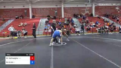 86 kg Prelims - Martin Verhaeghe, Tiger Wrestling Club vs Micah Ervin, Kentucky