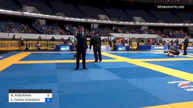 MAX RUDERMAN vs ANDY TOMAS MURASAKI PEREIRA 2019 World IBJJF Jiu-Jitsu No-Gi Championship