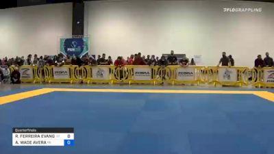 RICARDO FERREIRA EVANGELISTA vs AUSTIN WADE AVERA 2020 IBJJF Pan No-Gi Championship