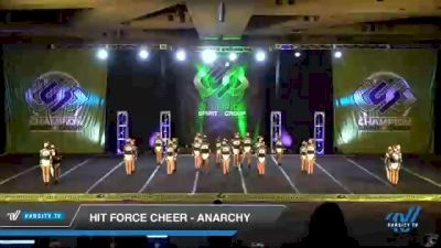 Hit Force Cheer - Anarchy [2021 L2 Junior - D2 - Medium Day 3] 2021 CSG Super Nationals DI & DII