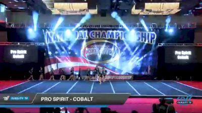 Pro Spirit - Cobalt [2021 L4 - U17 Coed Day 3] 2021 ACP Southern National Championship