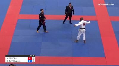 MATHEUS SOUZA vs RUAN OLIVEIRA 2018 Abu Dhabi Grand Slam Rio De Janeiro
