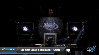 Off Main Cheer & Tumbling - Flames [2021 L2 Mini - D2 Day 2] 2021 The U.S. Finals: Louisville