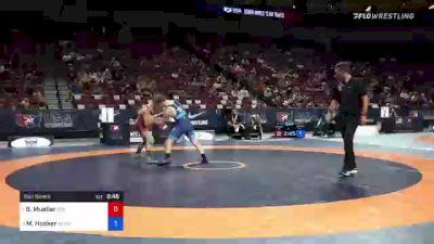 72 kg Con Semis - Brandon Mueller, 505 Wrestling Club vs Michael Hooker, Army (WCAP)
