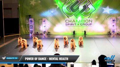 Power of Dance - Mental Health [2021 Senior - Jazz - Large Day 2] 2021 CSG Dance Nationals