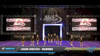 Legend Athletics - Diamonds [2021 L1.1 Youth - PREP - Small - B Day 1] 2021 The U.S. Finals: Ocean City