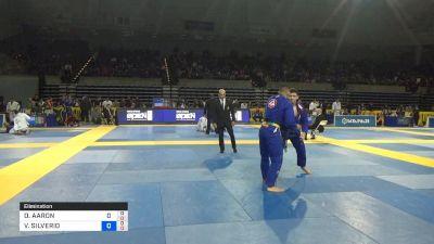 DAMIEN AARON NITKIN vs VICTOR SILVERIO SANTOS 2019 Pan Jiu-Jitsu IBJJF Championship