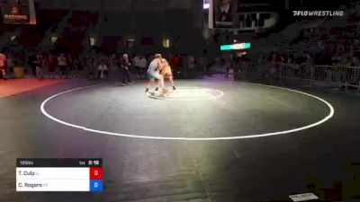 195 lbs 3rd Place - Tom Culp, Illinois vs Caden Rogers, Pennsylvania