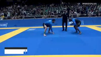 JAMUAL EDWARD PARKS vs DONALD BERNHARDT MCGREGOR 2021 World IBJJF Jiu-Jitsu No-Gi Championship