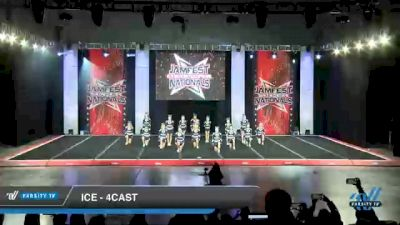 ICE - 4cast [2021 L4 Junior - Small - B Day 1] 2021 JAMfest Cheer Super Nationals