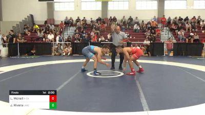 140 lbs Final - Lachlan Mcneil, X-Calibur vs Justin Rivera, Lake Highland Prep