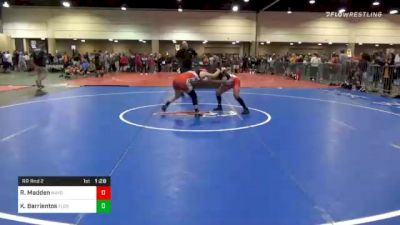 136 lbs Prelims - Reianna Madden, Mayo Quanchi Wrestling Club vs Kailani Barrientos, Florida