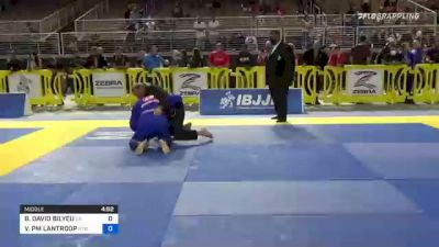 BRIAN DAVID BILYEU vs VICTOR PM LANTROOP 2021 Pan Jiu-Jitsu IBJJF Championship