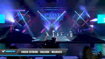 Cheer Extreme - Raleigh - Wildcats [2021 L2.2 Junior - PREP Day 1] 2021 Spirit Sports: Battle at the Beach