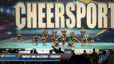 IMPACT ONE Allstars - SYNERGY [2021 L2 Youth Day 1] 2021 CHEERSPORT: Charlotte Grand Championship