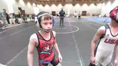 53 lbs Rr Rnd 2 - Korbin Kiessling, Rampage Wrestling vs Jaisen Sharma, Warhawks Wrestling
