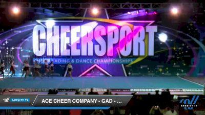 ACE Cheer Company - GAD - Creeks [2020 Senior Coed Small 3 Day 2] 2020 CHEERSPORT National Cheerleading Championship