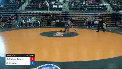 116 lbs Prelims - Serenity Durham Goree, Midland vs Riley Horvath, Indiana Tech