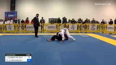JUAN CLEBER PIO DE SOUZA vs Emilio Alejandro Hernandez Rodriguez JJ International 2020 Atlanta International Open IBJJF Jiu-Jitsu Championship