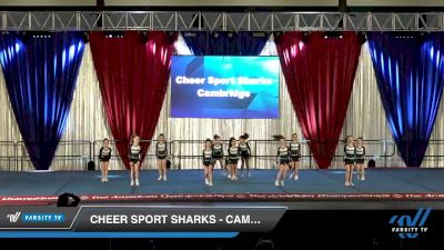 Cheer Sport Sharks - Cambridge - Polkadot Sharks [2020 L1 Tiny Day 2] 2020 The American Majestic DI & DII