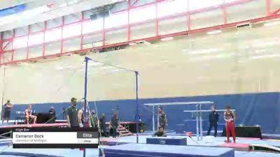 Cameron Bock - High Bar, University of Michigan - 2021 Men's Olympic Team Prep Camp