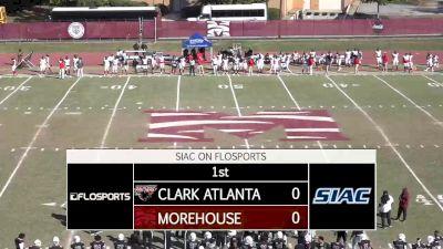 Full Replay - 2019 Clark Atlanta vs Morehouse   SIAC Football - Morehouse vs Clark Atlanta