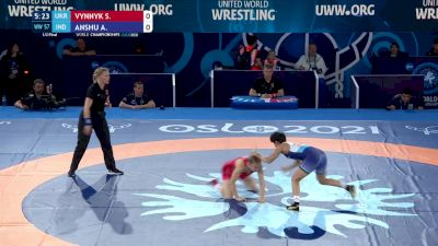 57 kg 1/2 Final - Solomiia Vynnyk, Ukraine vs Anshu Anshu, India