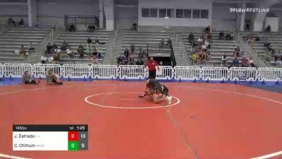 145 lbs Prelims - Javen Estrada, Illinois Menace vs Cody Chittum, Minion Legends