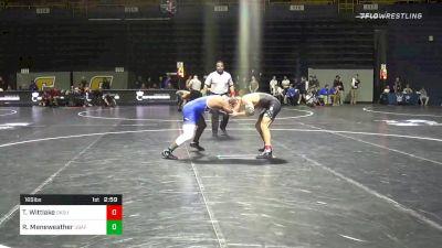 165 lbs Prelims - Travis Wittlake, Oklahoma State vs Randy Meneweather, Air Force