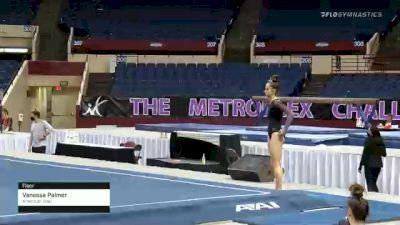 Vanessa Palmer - Floor, American Gold - 2021 Metroplex Challenge
