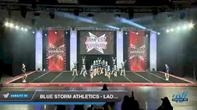 Blue Storm Athletics - LADY VORTEX [2021 L3 Senior - D2 - Small Day 1] 2021 JAMfest Cheer Super Nationals