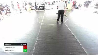 138 lbs Round Of 32 - Jordan Beauvais, Grindhouse WC vs Peter Nguyen, Mira Mesa