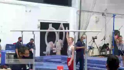 Cameron Bock - Parallel Bars, University of Michigan - 2021 Men's Olympic Team Prep Camp