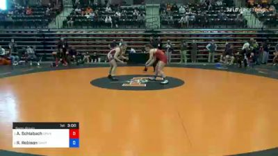 136 lbs Semifinal - Andrea Schlabach, Grand View vs Randi Robison, Campbellsville